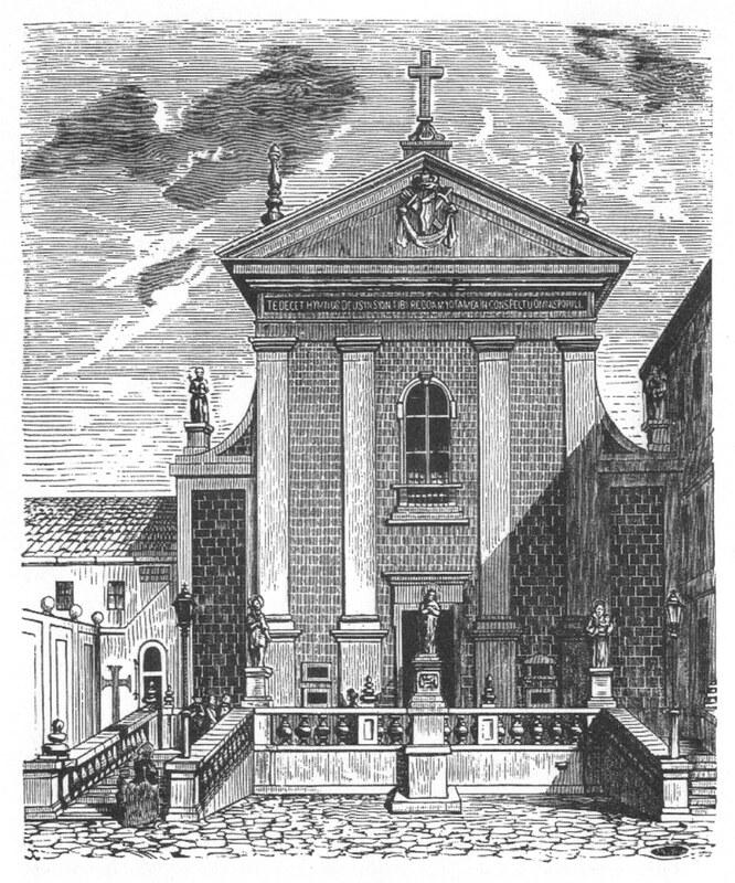Drzeworyt Michała Starkmana z około 1855 r - wikipedia