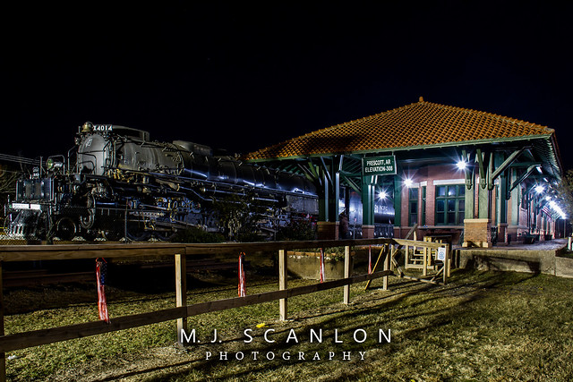 UP 4014 | 4-8-8-4 Steam | UP Little Rock Subdivision