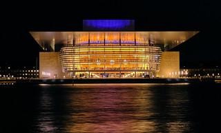 Copenhagen Opera House - evening performance