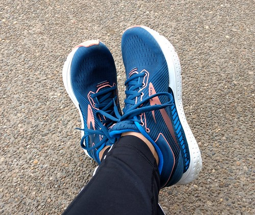 Running Happy in the Brooks Transcend 7