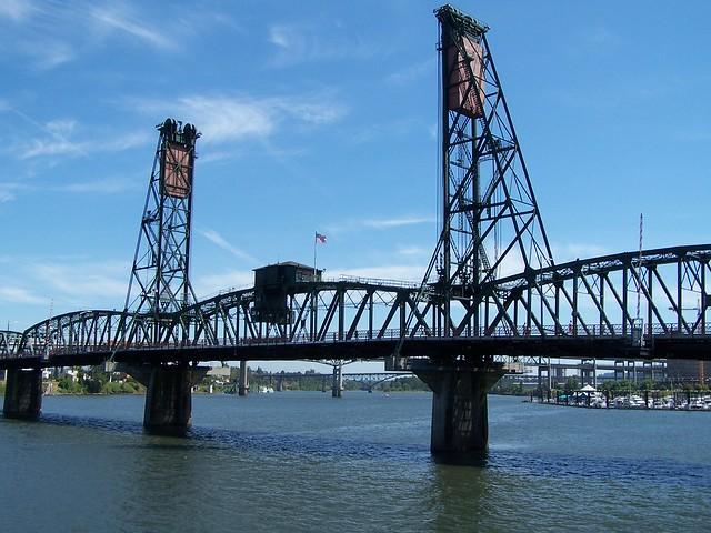 Portland Oregon - The Broadway Bridge - 1913 - Longest Bascule Bridge in the World