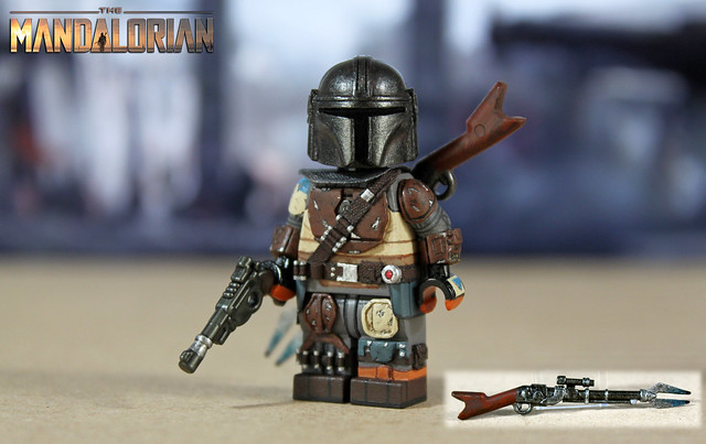 Custom LEGO Star Wars The Mandalorian