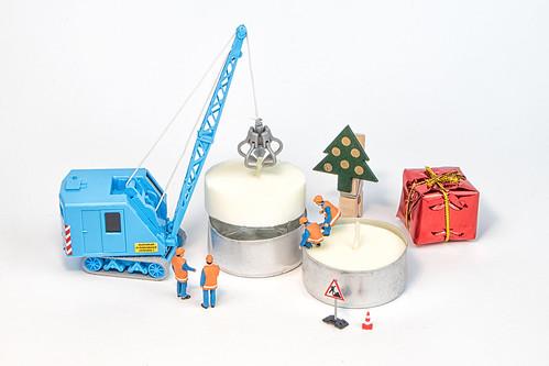 Vorbereitungen zum zweiten Advent laufen an - Preparations for the second Advent are starting