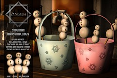 Astara - Snowman Marshamallows