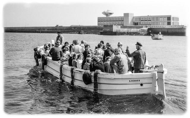 Helgoland - 1978. Verabschieden, bis zum nächsten Besuch . .