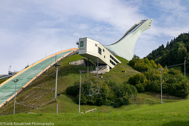 Part of the 1936 Winter Olympics complex
