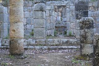 Templo del Xtoloc, su nombre corresponde al segundo gran cenote de Chichen Itza.