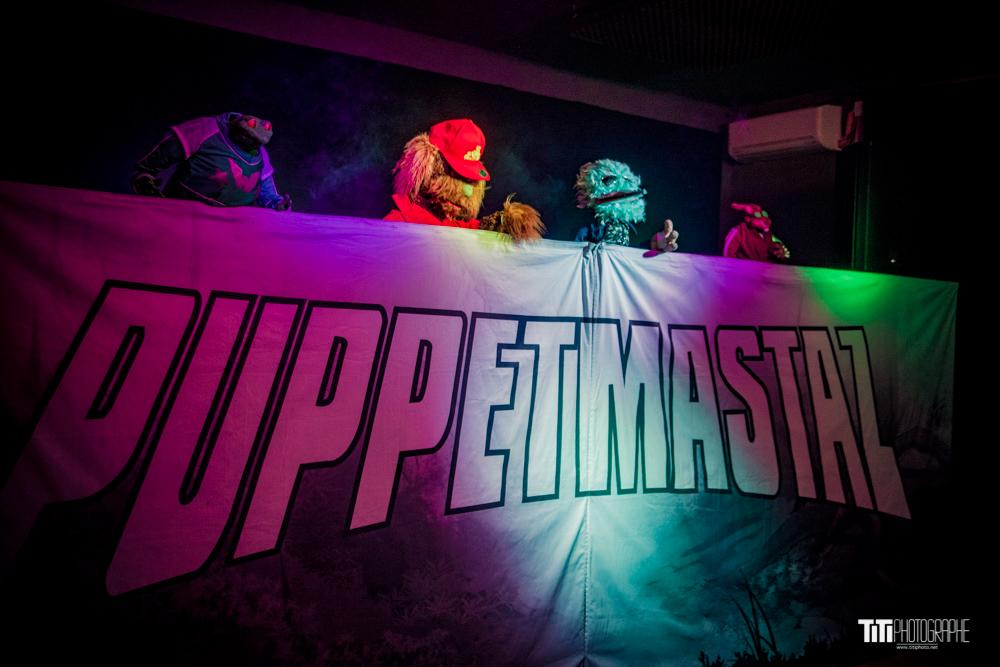 Puppetmastaz – KNT Studio – 27/11/2019