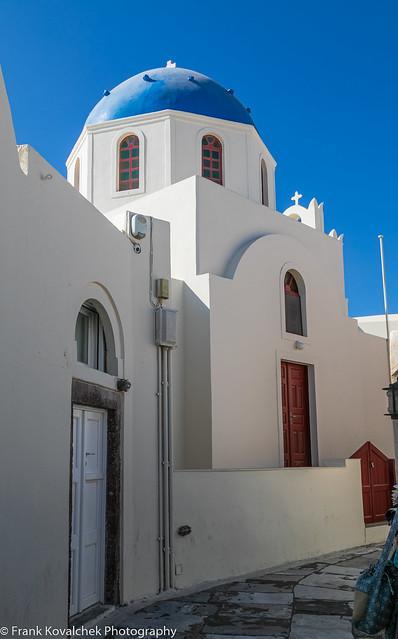 Sights while wandering around Oia, Santorini