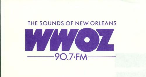 WWOZ purple logo