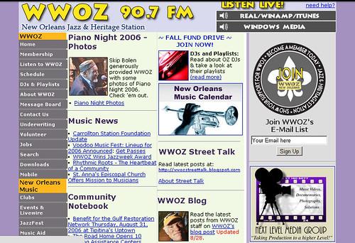 wwoz.org 2006
