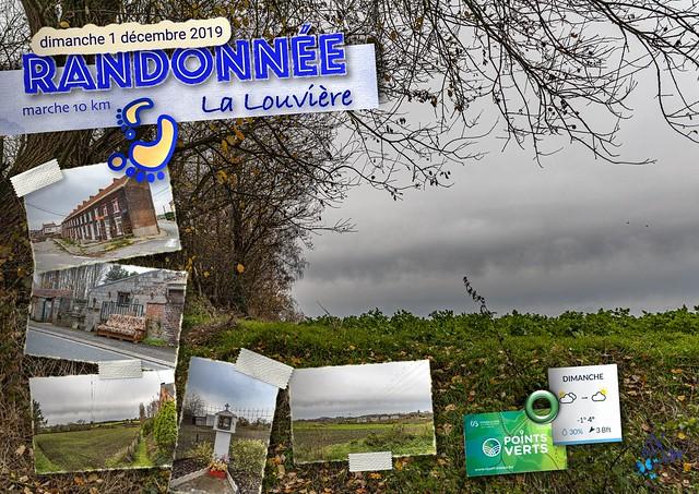 2019 - La Louvière - 49ème randonnée « Points Verts »