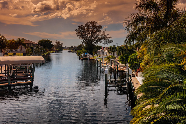 Channels of Cape Coral