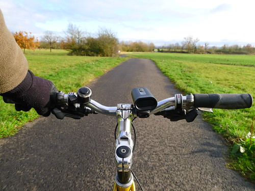 Riding the Waddeston Greenway