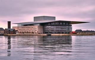 Copenhagen Opera House - early morning