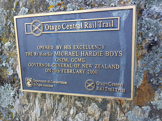 Otago Central Rail Trail — Day 4 — Hyde to Middlemarch