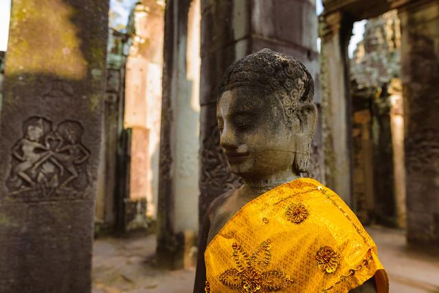 Buda en el Templo de Bayon.