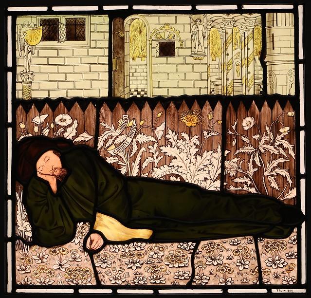 Chaucer Asleep (1864)