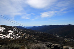 Above Thredbo