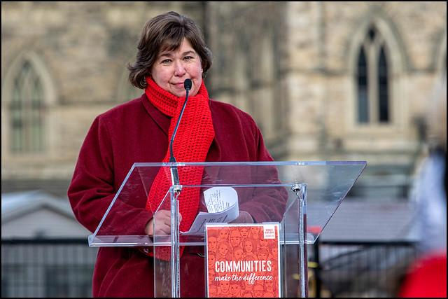Anita Vandenbeld on Parliament Hill