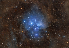 Stardust of the Pleiades (M45)