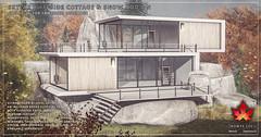 Trompe Loeil - Skylar Cliffside Cottage and Snow Add-On for FaMESHed December