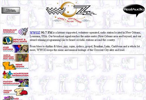 wwoz.org 1996