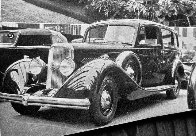 1936 PANHARD CS Limousine