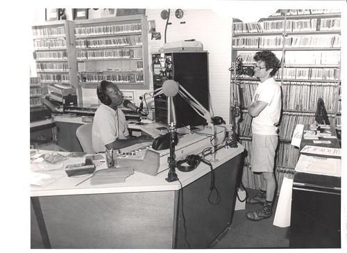 James Singleton on the air in the 1990s