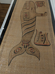 Johnnie Kit-Elswa. Cedar mat, Haida, ca. 1880 in Crosscurrents - Canada in the Making