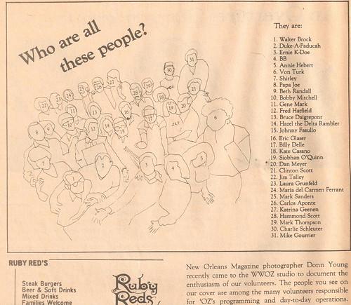 WWOZ 1983 team key