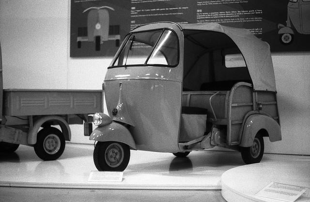 Il Museo Piaggio in bianco e nero