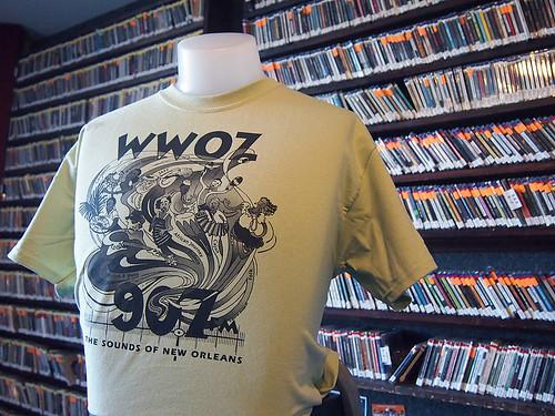 Older WWOZ shirt ca. 2000s