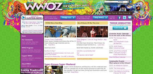 wwoz.org 2012