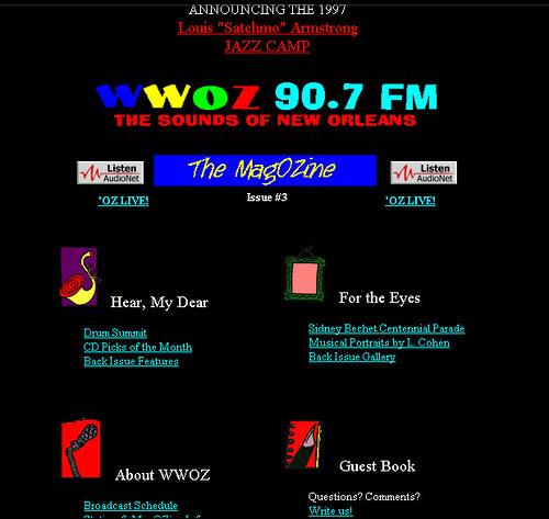 wwoz.org 1998
