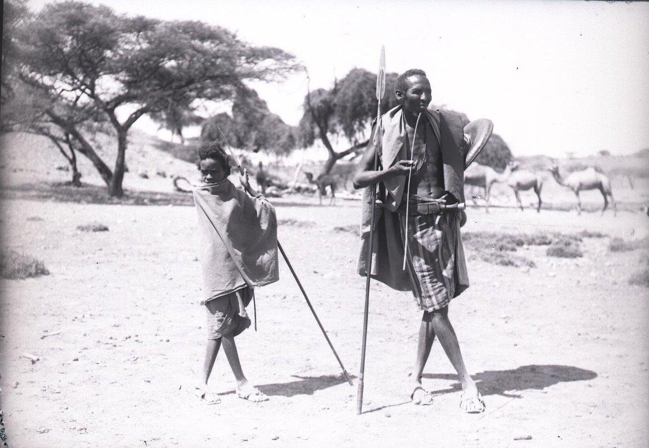 685. 1899. Фале. Отец и сын хауйя