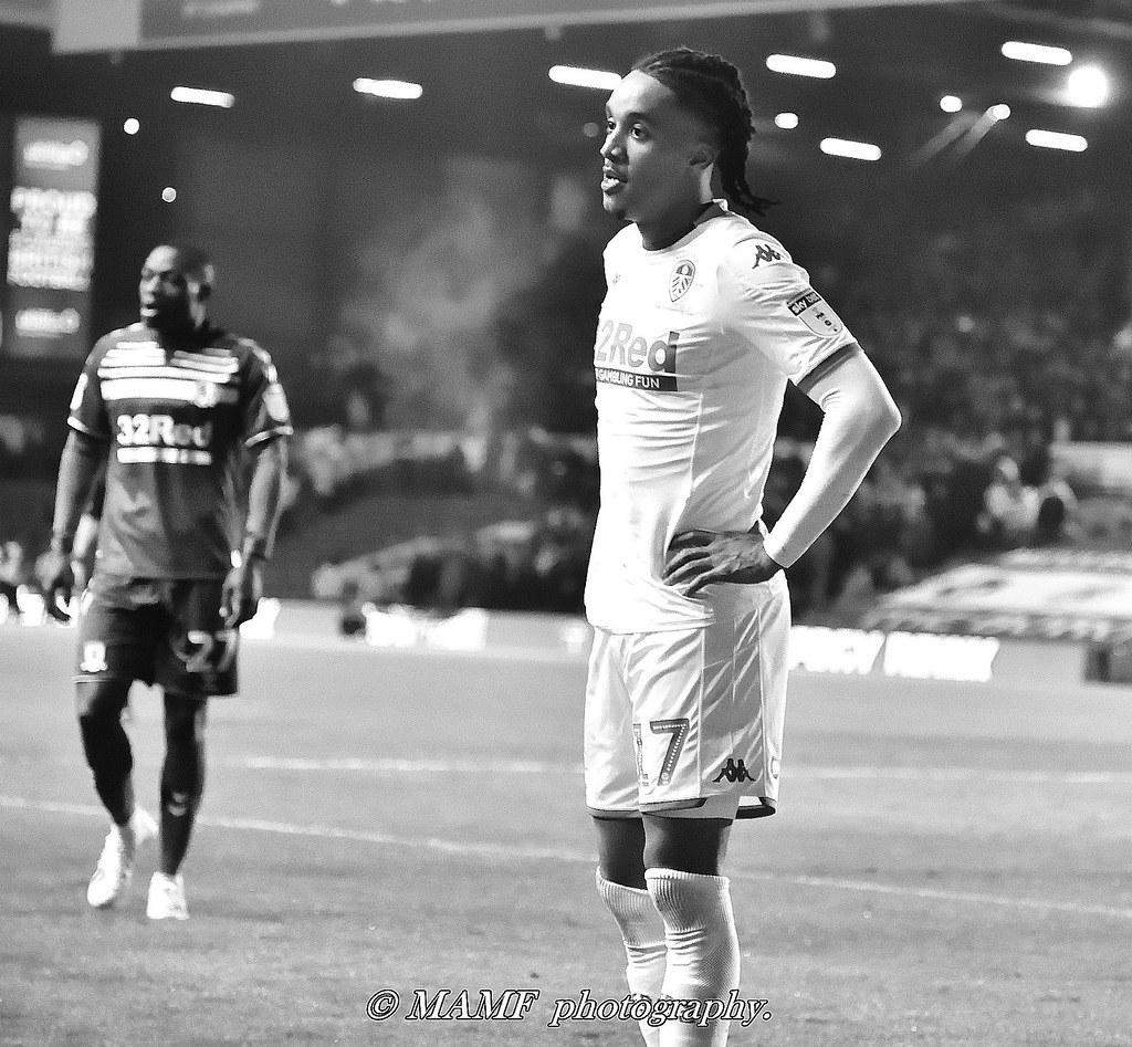 Helder Costa of Leeds united.