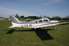 G-CEJD Piper PA-28-161 [2842244] Popham 080516