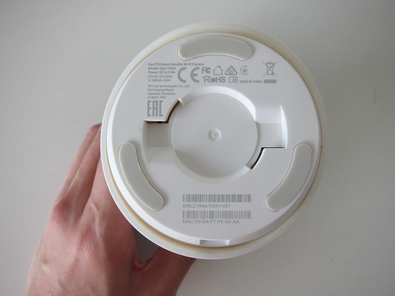 TP-Link Tapo C200 Wi-Fi Camera - Bottom