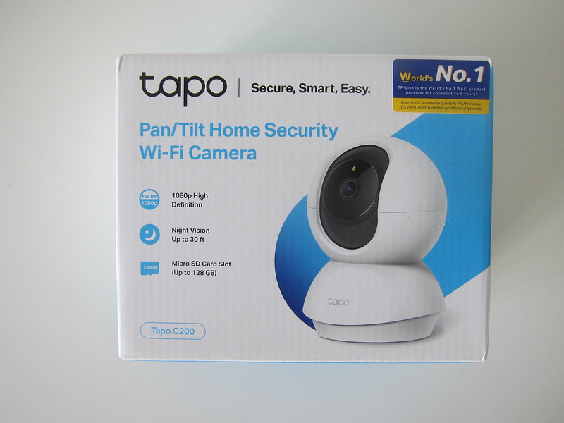 TP-Link Tapo C200 Wi-Fi Camera - Box Front