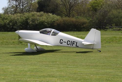 G-CIFL Vans RV-6 [PFA 181A-12290] Popham 080516