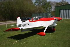 G-CEYM Vans RV-6 [PFA 181A-14595] Popham 080516