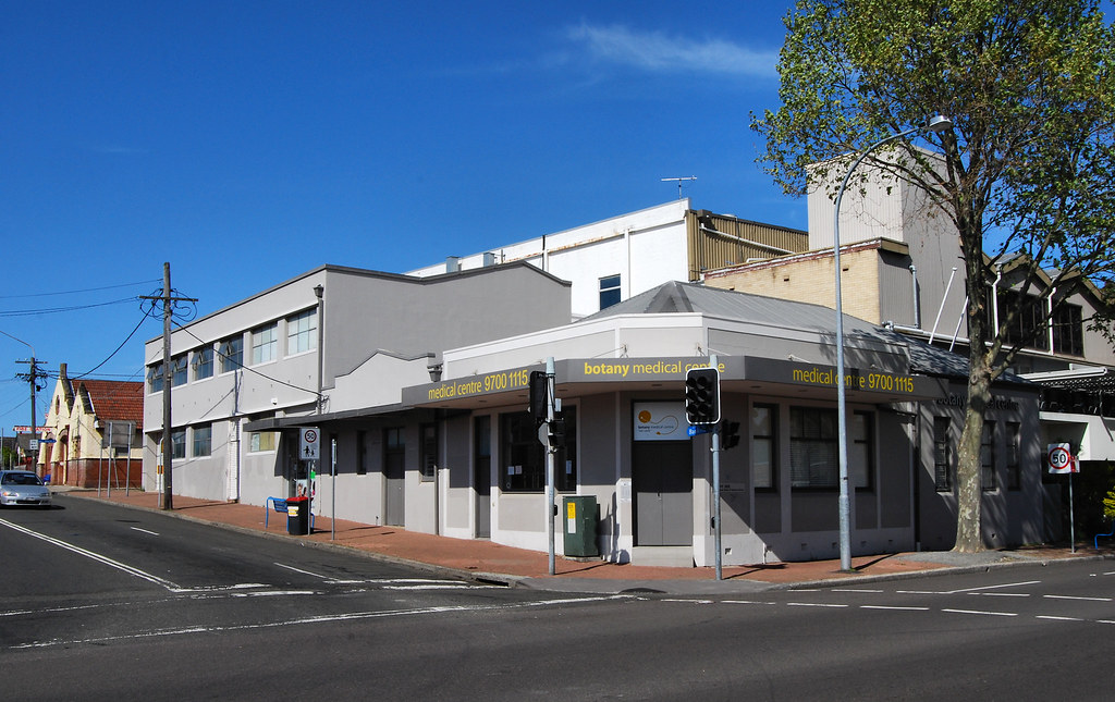 Former NAB Bank, Botany, Sydney, NSW.