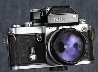 Nikon F2 with DP1 Photomic Finder | by kinemech