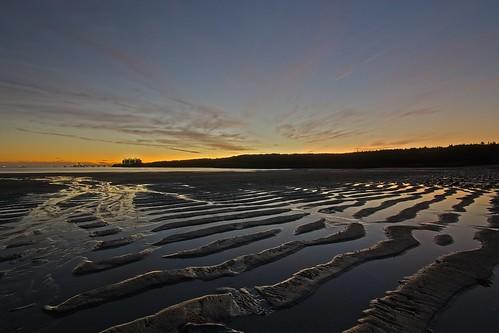 beach sand waves newbrunswick canada lng mispecbeachmsunset