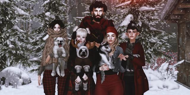 Winter with pupz n bearz