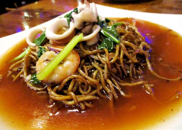 Ming Cafe Miri seafood noodles