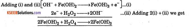 1st PUC Chemistry Question Bank Chapter 8 Redox Reactions - 4
