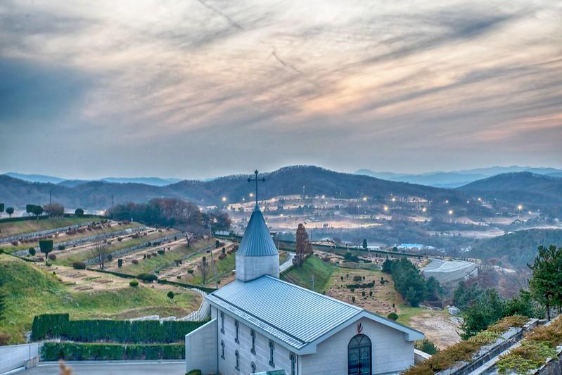 韓國水原市的教會。