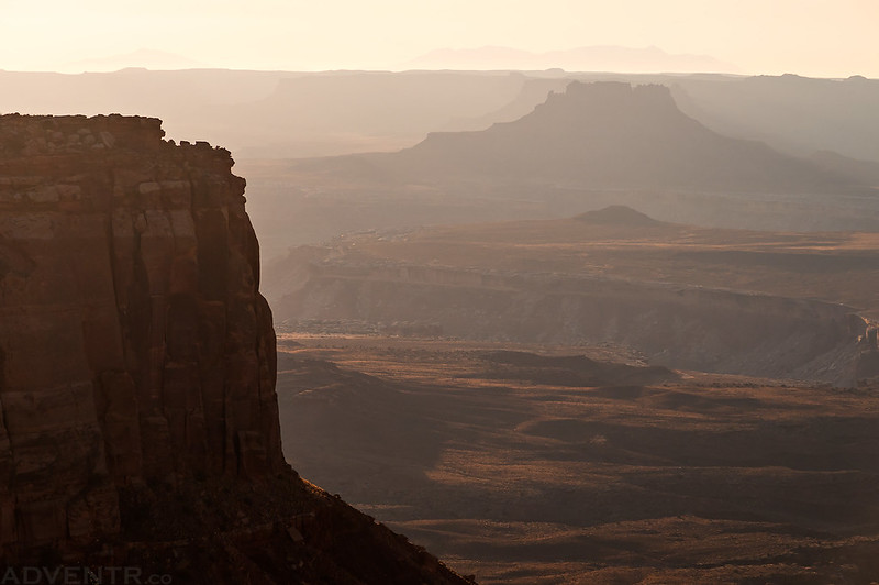 Distant Butte